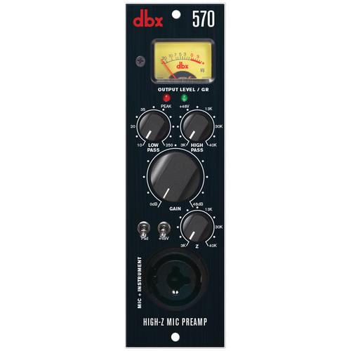 dbx 570 High-Z Microphone Preamplifier
