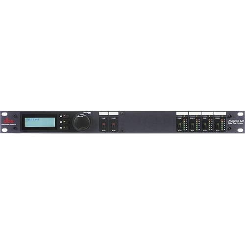dbx ZonePRO 640 Digital Zone Processor with Front-Panel Control