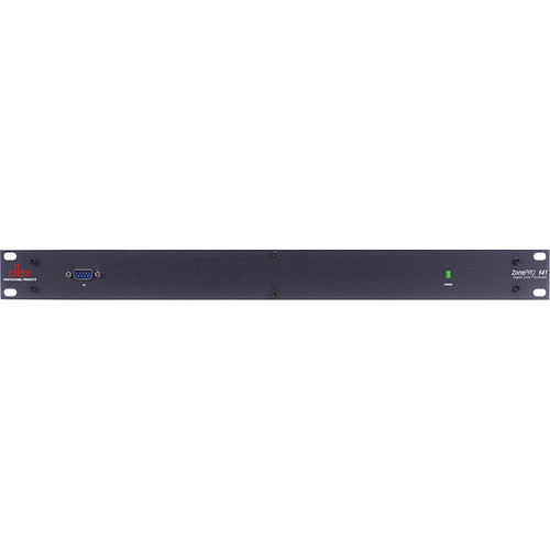 dbx ZonePRO 641 Digital Zone Processor without Front-Panel Control