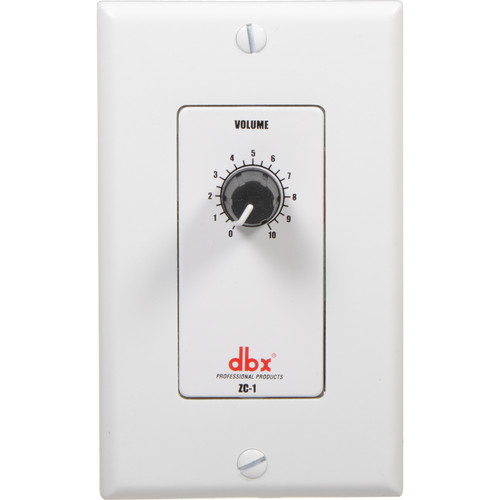 dbx ZC-1 - Rotary Volume Control for DriveRack and ZonePro