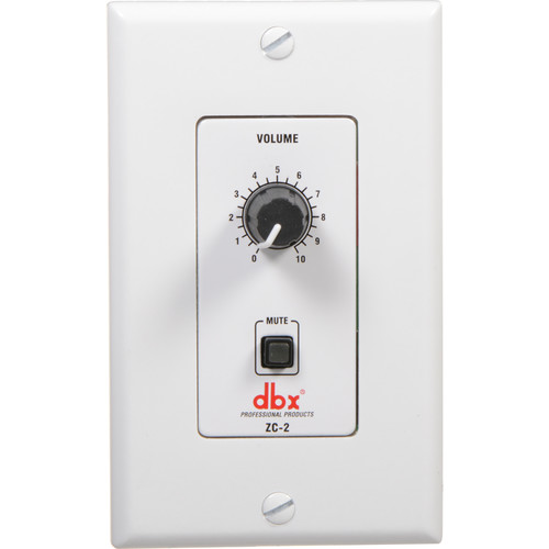 dbx ZC-2 - Rotary Volume Control with Mute Function