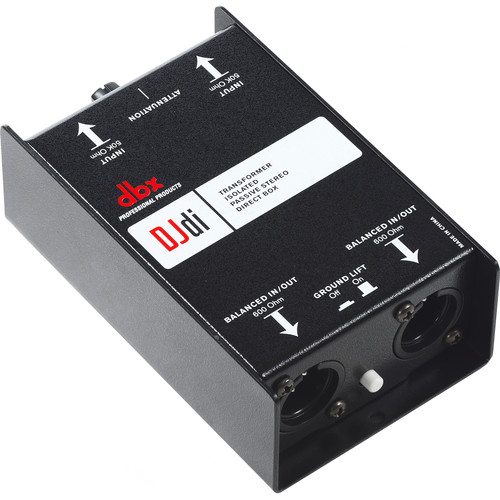 dbx DJDI 2-Channel Passive Direct Box