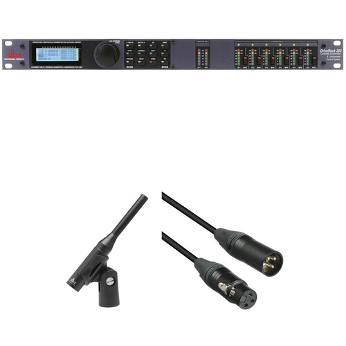 dbx DriveRack 260 Loudspeaker Management System Kit with Measurement Mic and Cable