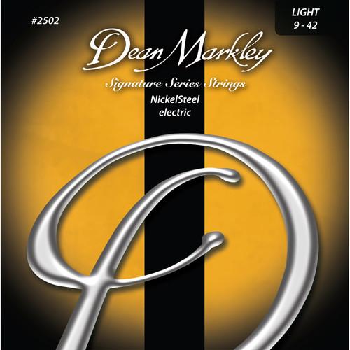 Dean Markley DM2502 LT NickelSteel Electric Signature Series Guitar Strings (6-String Set, 9 - 42)