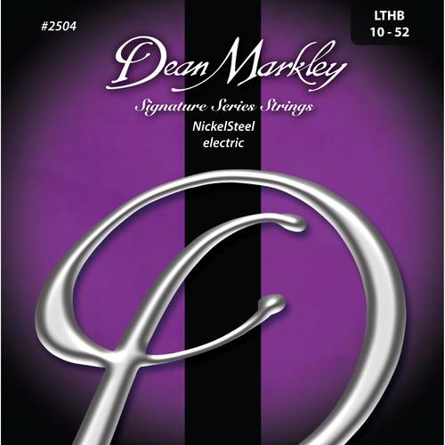 Dean Markley DM2504 LTHB NickelSteel Electric Signature Series Guitar Strings (6-String Set, 10 - 52)