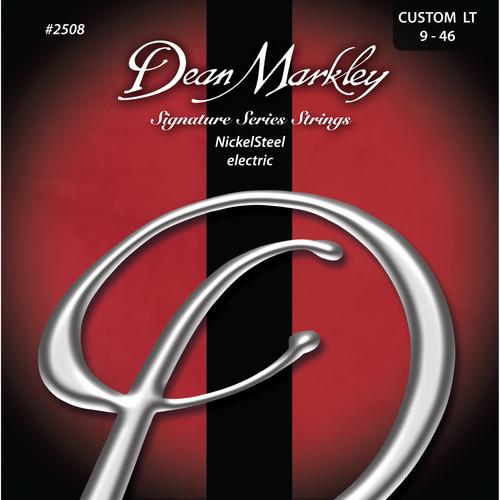 Dean Markley DM2508 CUST LT NickelSteel Electric Signature Series Guitar Strings (6-String Set, 9 - 46)
