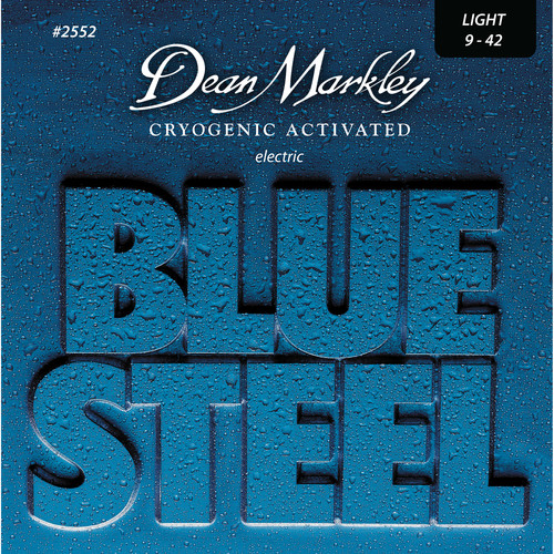 Dean Markley 2552 Blue Steel Electric Guitar Strings (9-42, 6-String Set)