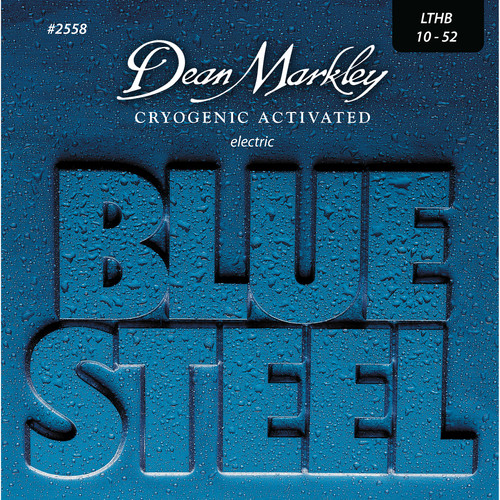 Dean Markley 2558 Blue Steel Electric Guitar Strings (10-52, 6-String Set)