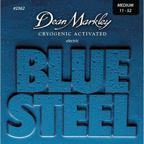 Dean Markley 2562 Blue Steel Electric Guitar Strings (11-52, 6-String Set)