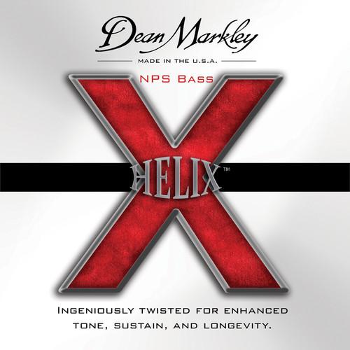 Dean Markley 2612 Helix NPS Bass Guitar Strings (50-105 Gauge, 4-String Set)