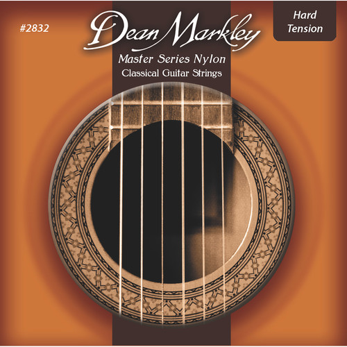 Dean Markley 2832 Master Series Classical Guitar Strings (Hard Tension, 6-String Set)