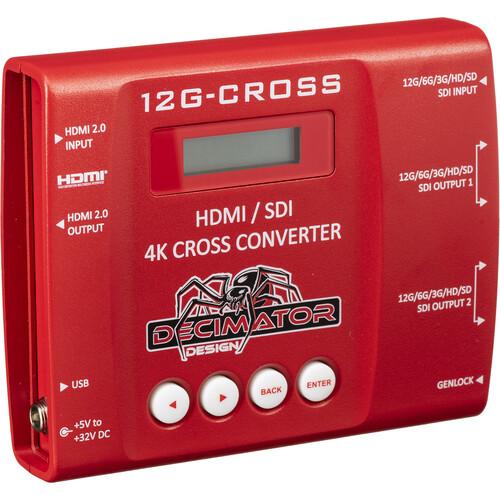 Decimator 12G-CROSS