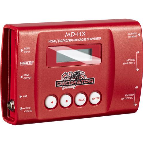 DECIMATOR MD-HX Miniature HDMI/SDI Cross Converter with Scaling & Frame Rate Conversion