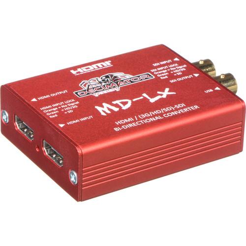 DECIMATOR MD-LX HDMI/SDI Bidirectional Converter