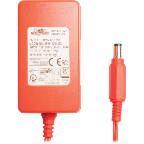 DECIMATOR Power Pack 12 VDC with Locking Coax Connector for Select DECIMATOR Devices