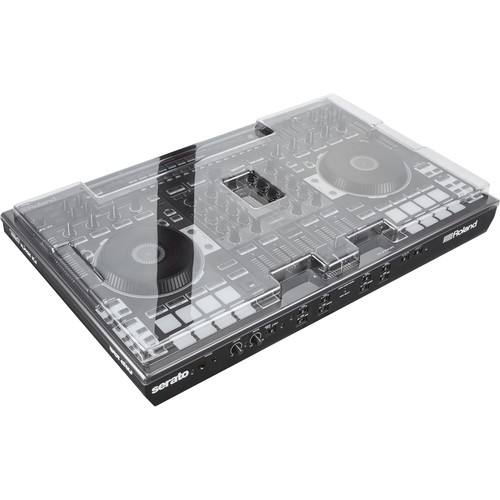 Decksaver DJ Controller Cover for Roland DJ-808 Controller (Smoked/Clear)