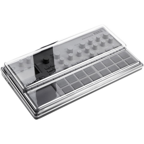 Decksaver Cover for Korg Electribe 2 (Smoked/Clear)