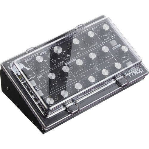 Decksaver Cover for Moog Minitaur (Smoked/Clear)