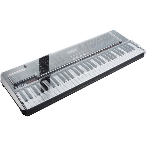 Decksaver Cover for Akai Professional MPK261 Keyboard Controller (Smoked/Clear)