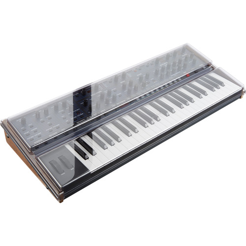 Decksaver Cover for Dave Smith Instruments OB-6 (Smoked/Clear)