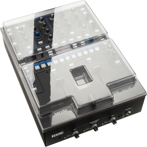 Decksaver Smoked/Clear Cover for Rane Sixty-Two Mixer