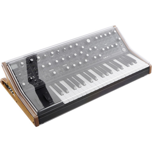 Decksaver Moog SUB-37 & Little Phatty Cover (Smoked/Clear)