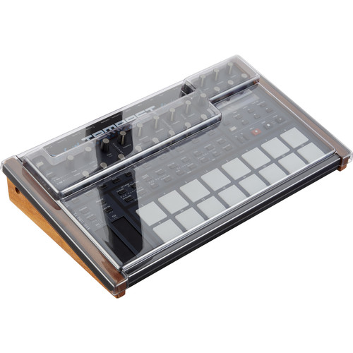 Decksaver Cover for Dave Smith Instruments Tempest (Smoked/Clear)