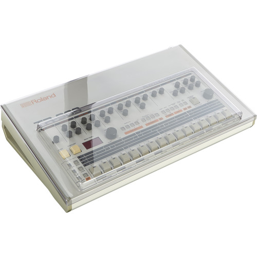 Decksaver Cover for Roland TR-909 Drum Machine (Smoked / Clear)