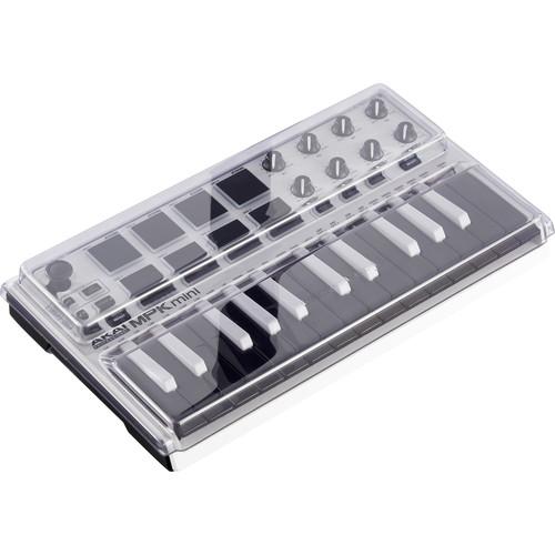 Decksaver Cover for Akai MPK Mini MK2 Keyboard Controller (Smoked/Clear)