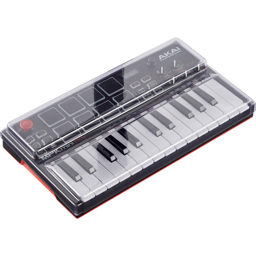 Decksaver Cover for Akai MPK Mini Play Keyboard Controller (Smoked/Clear)