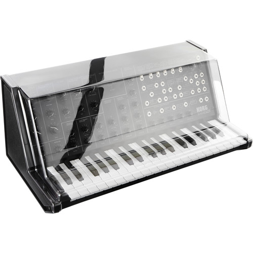 decksaver cover for korg ms 20 mini synthesizer dss pc ms20m b h. Black Bedroom Furniture Sets. Home Design Ideas