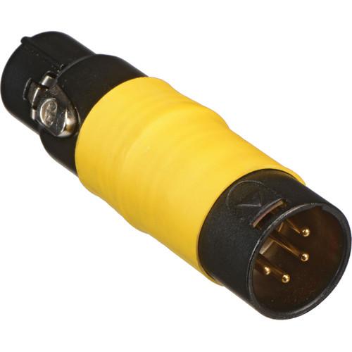 Dedolight 4-Pin Male XLR to 3-Pin Female XLR Adapter