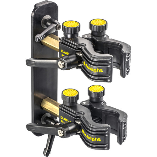 Dedolight Holder with Two CLAMP-D High-Precision Clamps for DEB1200D Ballast