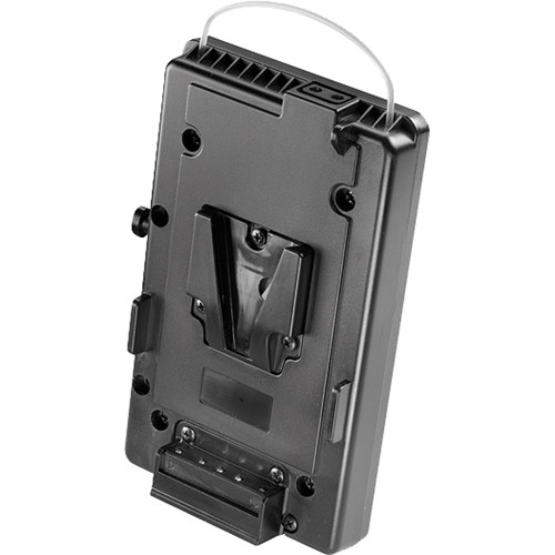 Dedolight Battery Plate with Loop and Belt Clip for DLED2.1Y, 4.1, 9.1 (V-Mount)