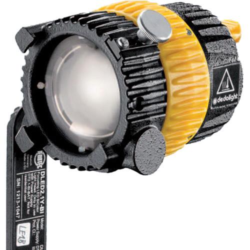 Dedolight DLED2.1YHSM-D Daylight LED Light Head with Yoke & Shoe Mount