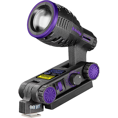 Dedolight FluoresZilla UV On-Board Light Head LED (400nm)