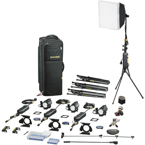 Dedolight S4-M Master Explorer 4-Light Kit (230VAC)