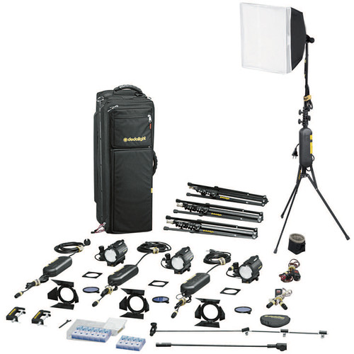 Dedolight S4-M Master Explorer 4-Light Kit (120VAC)
