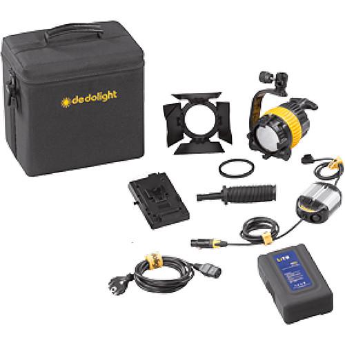 Dedolight DLED4-D Daylight LED Basic 1-Light Kit (Battery Operation)