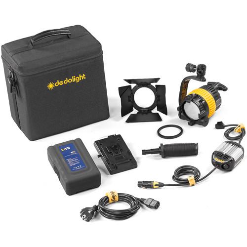 Dedolight DLED4-D Daylight LED 1-Light Kit (Battery Operation)
