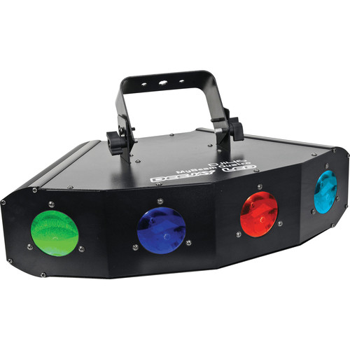 DeeJay LED 30W LED Four Moon Fixure with DMX Control