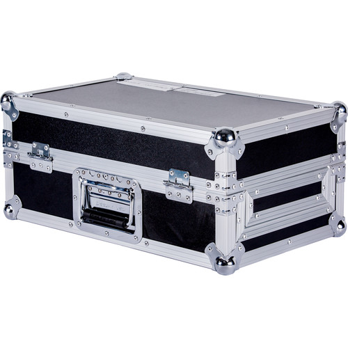 "DeeJay LED 10"" DJ Mixer Case with Front Sliding Doors"