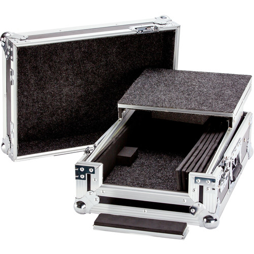 "DeeJay LED 10"" DJ Mixer Case with Laptop Shelf"