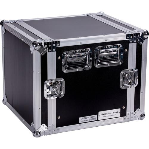 """DeeJay LED 10 RU Amplifier Deluxe Case (18"""" Deep)"""
