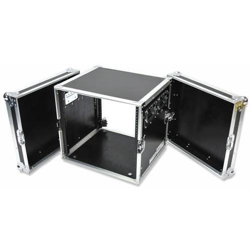 "DeeJay LED Deep Fly Drive Amplifier Rack Case (18"" Deep, 10 RU)"