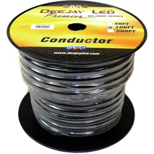 DeeJay LED 12 AWG 4-Conductor Cable (100')