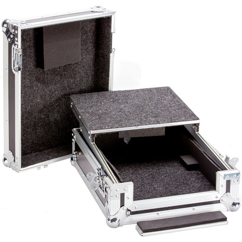 "DeeJay LED 12"" DJ Mixer Case with Laptop Shelf"