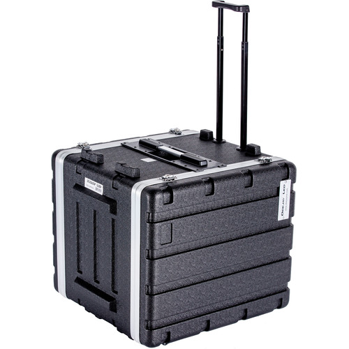 DeeJay LED 12 RU ABS Case with Locking Wheels