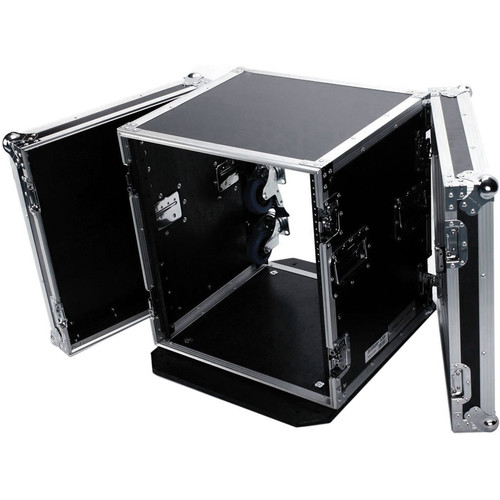 "DeeJay LED 12 RU Amplifier Deluxe Case with Wheels (18"" Deep)"