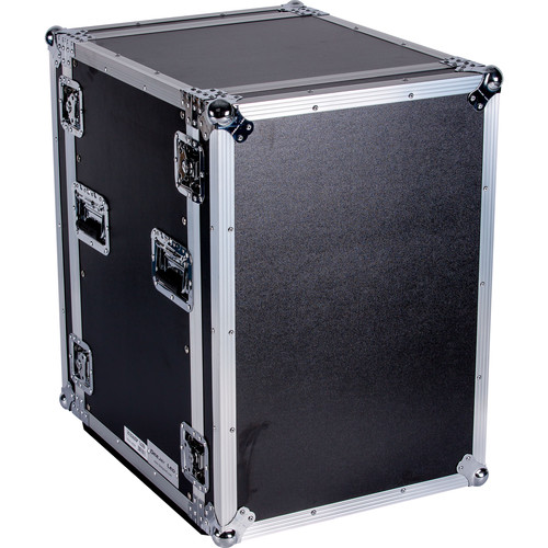 "DeeJay LED 16 RU Shock Mount Amplifier Deluxe Case (21"" Deep)"
